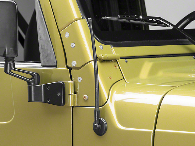 Rugged Ridge Reflex Stubby Antenna; 13-Inch (97-06 Jeep Wrangler TJ)