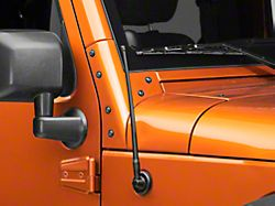 Rugged Ridge 13 in. Reflex Stubby Antenna (07-20 Jeep Wrangler JK & JL)