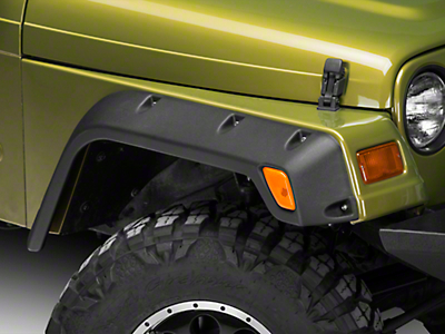 Rugged Ridge All Terrain 4.75 in. Fender Flares (97-06 Wrangler TJ)