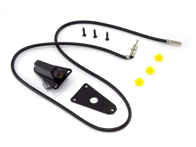 Replacement Antenna Base - Black (87-95 Jeep Wrangler YJ)