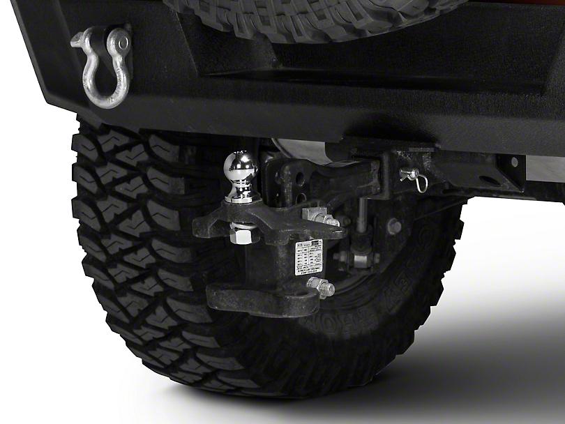 Rugged Ridge 2 in. Chrome Trailer Hitch Ball (87-18 Jeep Wrangler YJ, TJ, JK & JL)