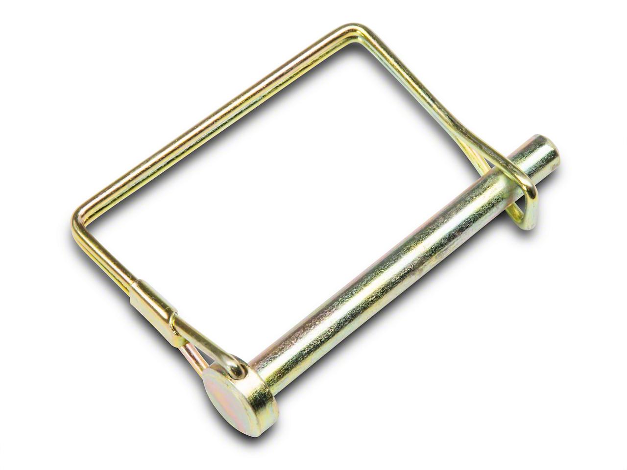 Omix-ADA Wire Lock Hitch Pin - 2.5 in x 5/16 in. (87-18 Jeep Wrangler YJ, TJ, JK & JL)