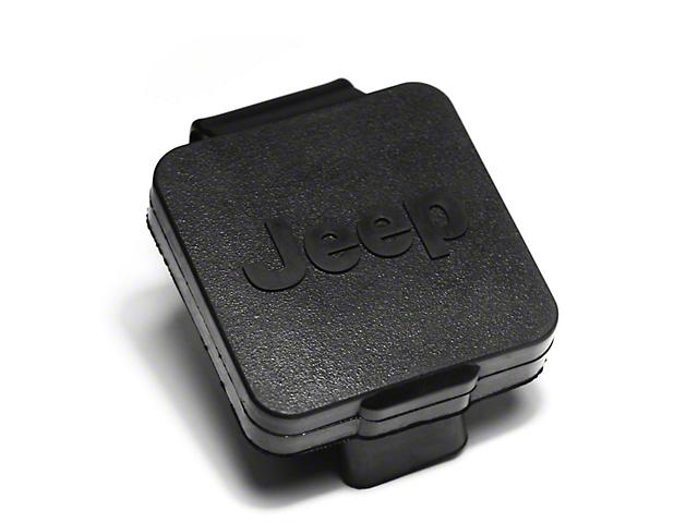 Rugged Ridge 2 in. Hitch Plug w/ Jeep Logo (87-19 Jeep Wrangler YJ, TJ, JK & JL)