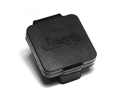 Rugged Ridge 2 in. Hitch Plug w/ Jeep Logo (87-18 Jeep Wrangler YJ, TJ, JK & JL)