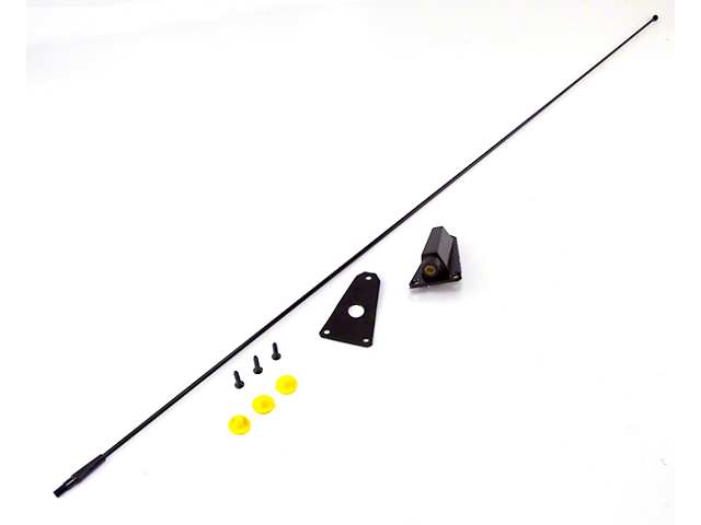 Antenna Kit; Black (87-95 Jeep Wrangler YJ)