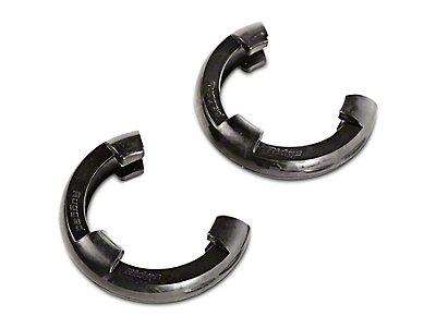 Rugged Ridge 3/4 in. Black D-Shackle Isolators - Pair