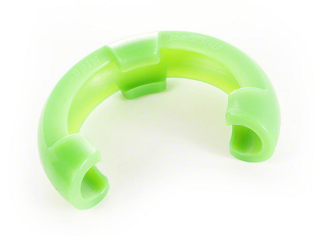 Rugged Ridge 7/8 in. Green D-Ring Shackle Isolators - Pair