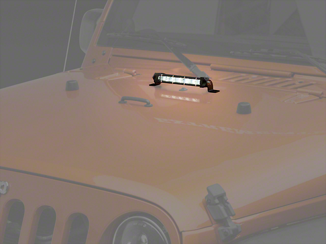Raxiom 8 in. Super Slim Single Row LED Light Bar - Spot/Spread Combo