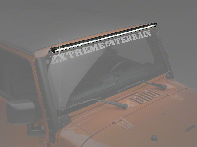 Raxiom 50 in. Super Slim Single Row LED Light Bar - Spot/Spread Combo