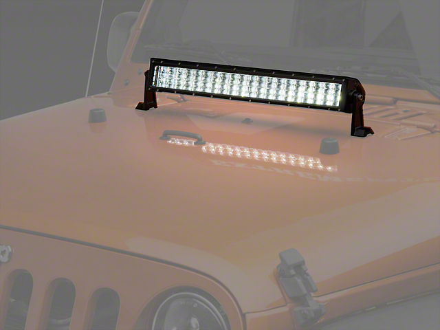Raxiom 22 in. 4-Row High Power LED Light Bar - Spot/Spread Combo