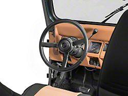 Sport Steering Wheel; Leather (87-95 Jeep Wrangler YJ)
