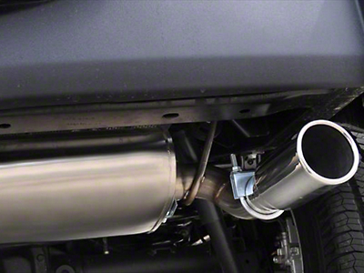 Corsa 2.5 in. Sport Axle-Back Exhaust w/ Single Polished Tip (07-18 Jeep Wrangler JK)
