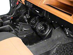 Centra-Pod with 6.50-Inch Kicker Speakers (87-95 Jeep Wrangler YJ)