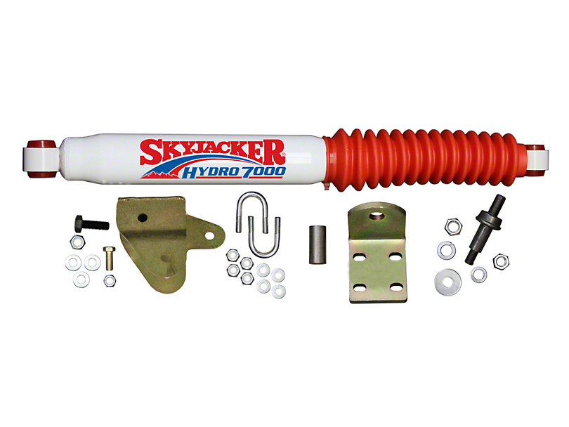 SkyJacker Hydro 7000 Single Stabilizer Kit for Adjustable Track Bar and Stabilizer Assembly (97-06 Jeep Wrangler TJ)