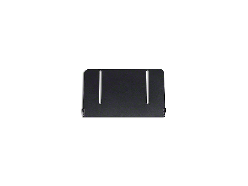 License Plate Frame for 10-Inch Luminux LED Light Bar (Universal Fitment)