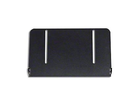 Putco License Plate Frame for 10 in. Luminux LED Light Bar (07-18 Wrangler JK; 2018 Wrangler JL)