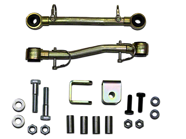 SkyJacker Front Sway Bar Extended Quick Disconnect End Links for 2.5-4 in. Lift (97-06 Jeep Wrangler TJ)