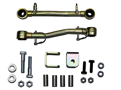 SkyJacker Front Sway Bar Extended Quick Disconnect End Links for 2.5-4 in. Lift (97-06 Wrangler TJ)