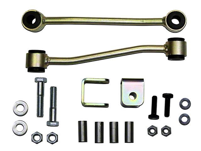 SkyJacker Front Sway Bar Extended End Links for 8 in. Lift (97-06 Jeep Wrangler TJ, Excluding Unlimited)