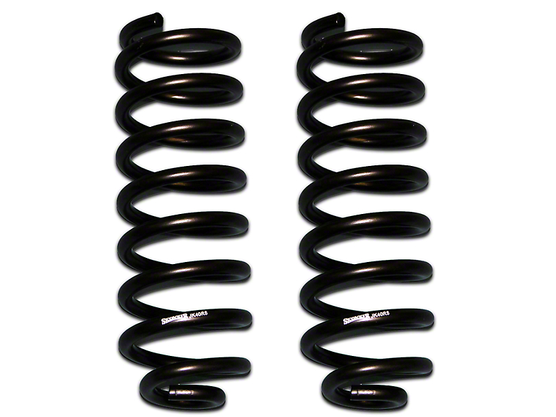 SkyJacker Softride Rear Coil Springs for 4-5 in. Lift (07-18 Jeep Wrangler JK)