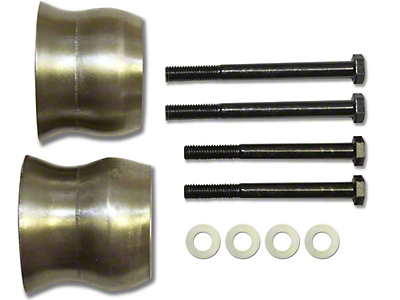 SkyJacker Exhaust Spacer Kit for 3.5+ in. Lift (12-18 Jeep Wrangler JK)