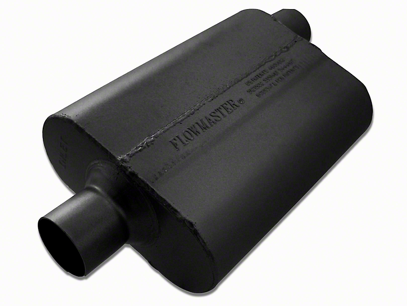 Flowmaster 40 Series Delta Flow Center/Offset Oval Muffler - 2.5 in. (97-18 Jeep Wrangler TJ & JK)