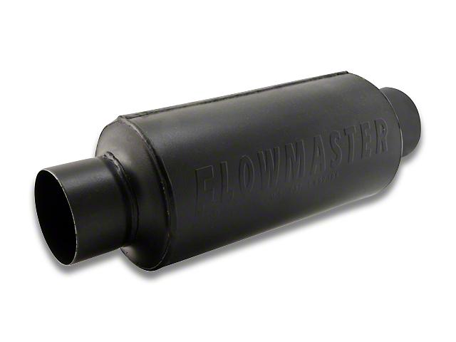 Flowmaster Pro Series Shorty Center/Center Bullet Style Muffler - 3.0 in. (97-18 Wrangler TJ & JK)