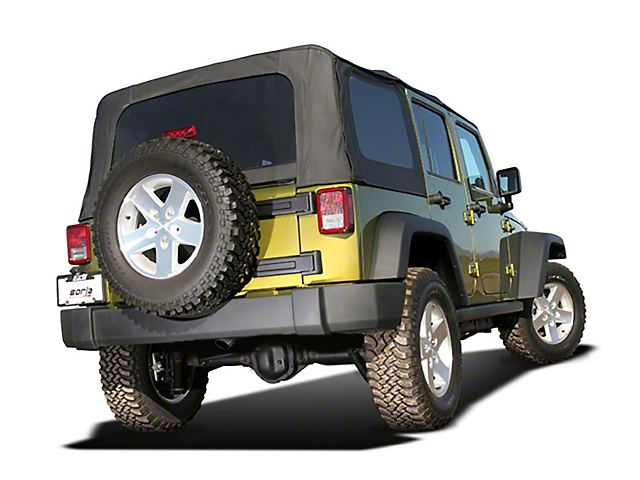 Borla Climber Stinger S-Type Cat-Back Exhaust (07-18 Jeep Wrangler JK 4 Door)