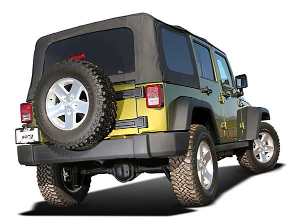 Borla Climber Stinger S-Type Cat-Back Exhaust (07-18 Jeep Wrangler JK 4 Door)