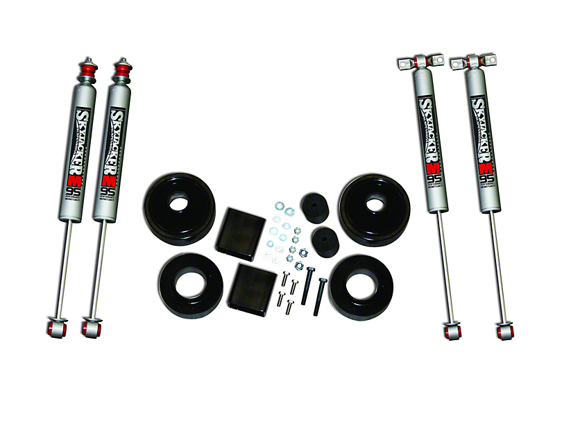 SkyJacker 2 in. Value Suspension Lift Kit w/ Shocks (07-18 Jeep Wrangler JK)