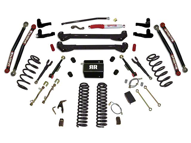 SkyJacker 8 in. Rock Ready 2 Suspension Lift Kit w/ Shocks (97-06 Jeep Wrangler TJ)