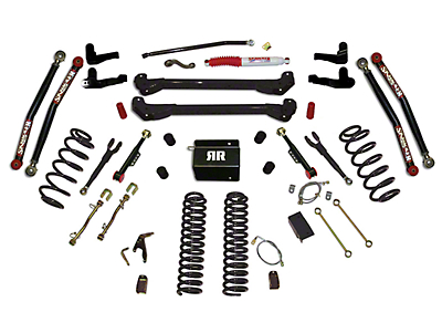 SkyJacker 8 in. Rock Ready 2 Suspension Lift Kit w/ Shocks (97-06 Jeep Wrangler TJ)
