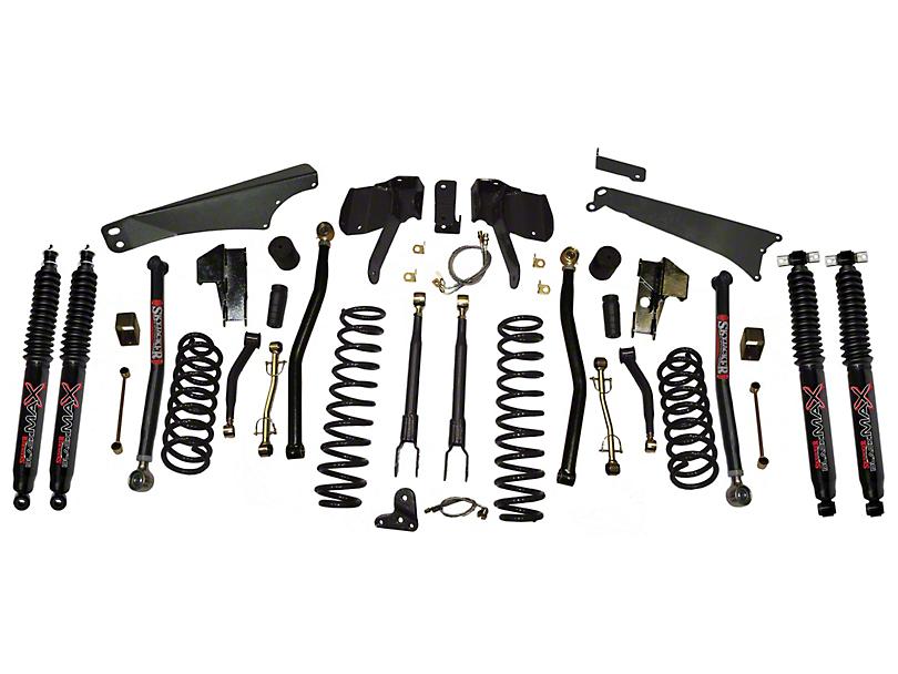 SkyJacker 4-5 in. Long Arm Suspension Lift Kit w/ Shocks (07-18 Jeep Wrangler JK)
