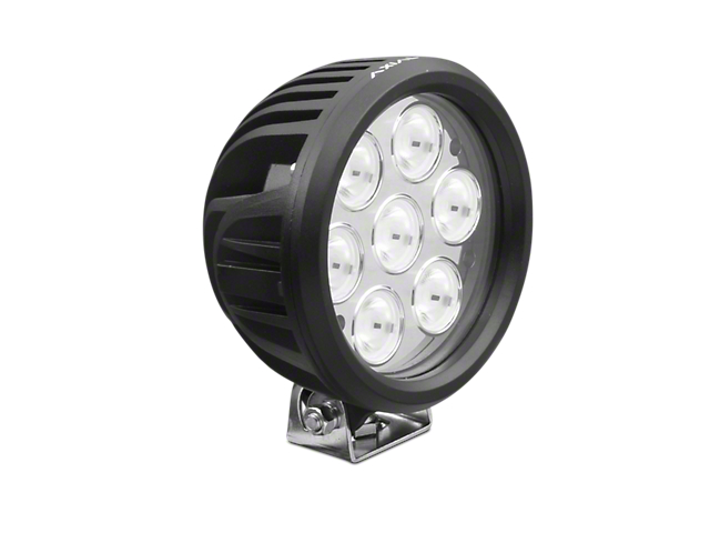 Axial 6 Inch 7-LED Round Light; Flood Beam