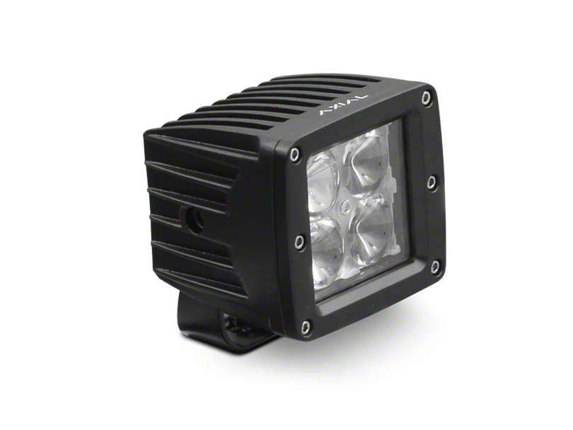 Axial 3 in. 4-LED Cube Light - Flood Beam
