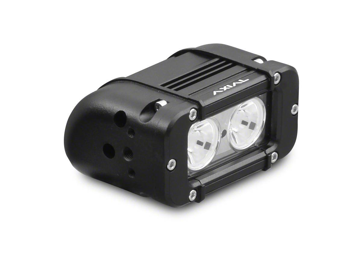 Axial 5 in. 2-LED Rectangular Light - Spot Beam