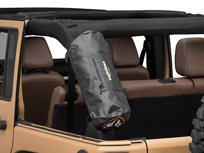 Rightline Gear Roll Bar Storage Bag - Black (87-18 Wrangler YJ, TJ, JK & JL)