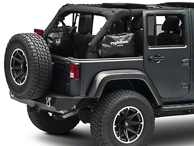 Rightline Gear Side Storage Bags (07-18 Wrangler JK 4 Door)