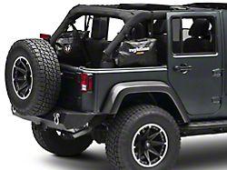 Rightline Gear Side Storage Bag - Black (07-18 Jeep Wrangler JK 4 Door)