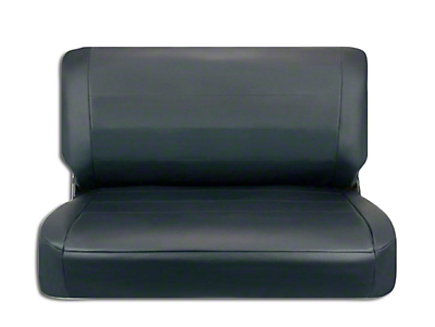 Corbeau Rear Seat Cover - Black Vinyl (87-95 Jeep Wrangler YJ)