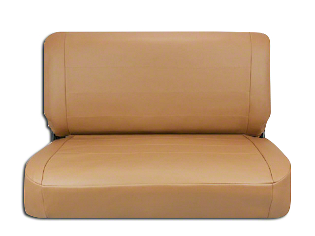 Corbeau Jeep Wrangler Rear Seat Cover Tan Vinyl 32060