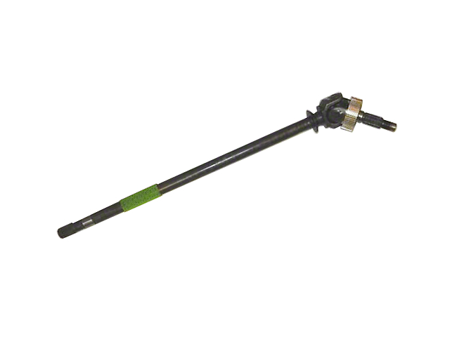 Dana 30 Front Axle Shaft; Passenger Side (97-06 Jeep Wrangler TJ, Excluding Rubicon)