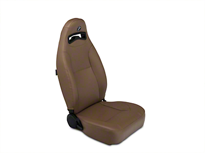 Corbeau Moab Reclining Seat - Spice Vinyl - Pair (87-18 Jeep Wrangler YJ, TJ & JK; Seat Brackets are Required for TJ & JK Models)