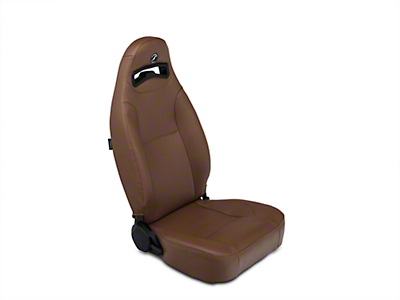 Corbeau Moab Reclining Seat - Tan Vinyl - Pair (87-18 Jeep Wrangler YJ, TJ & JK; Seat Brackets are Required for TJ & JK Models)