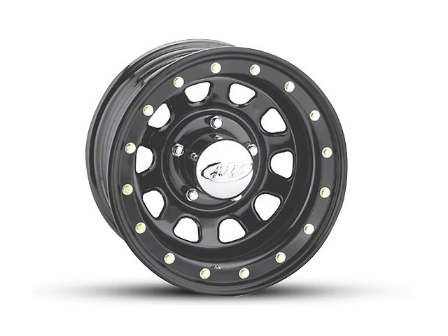 Raceline 54M Daytona Matte Black Wheel - 15x8 (97-06 Jeep Wrangler TJ)