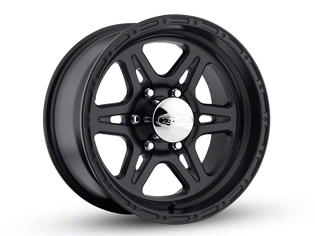 Raceline Renegade Black Wheel - 16x8 (87-95 Jeep Wrangler YJ)