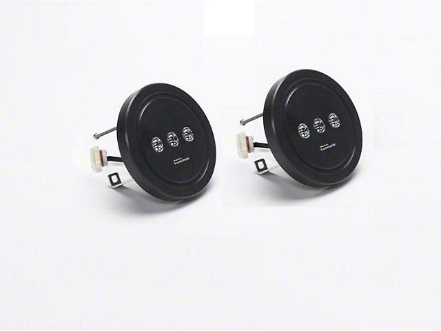 Luminix High Power LED Fog Lights (11-18 Jeep Wrangler JK w/ OEM Steel Bumper)