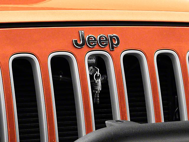 Elegant Tuffy Hood Lock (07 18 Jeep Wrangler JK)
