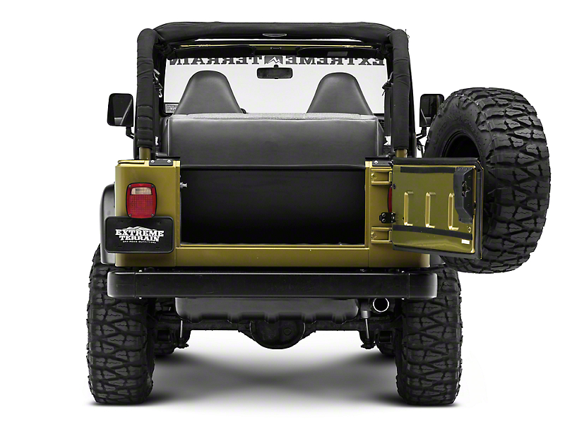 Tuffy Jeep Wrangler Tailgate Security Enclosure 296 01 97