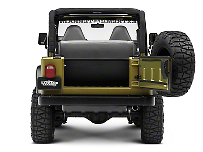 Tuffy Tailgate Security Enclosure (97-06 Jeep Wrangler TJ)